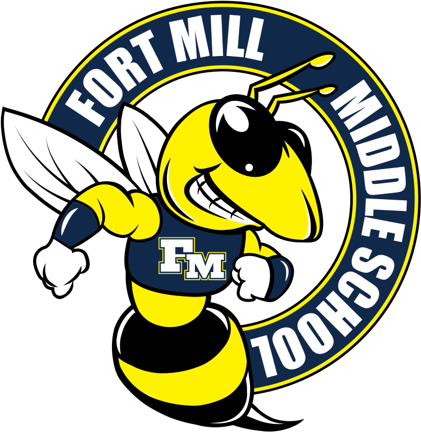 Transparent going to school clipart - Fort Mill Middle School - Fort Mill Middle School Logo