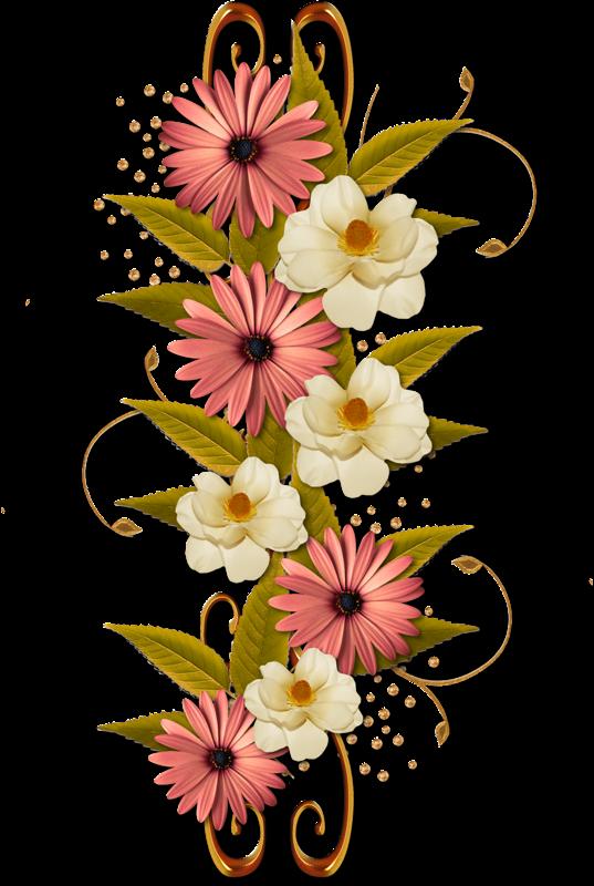 Tubes Fleurs Cluster Of Flowers Clipart Transparent Cartoon Jing Fm