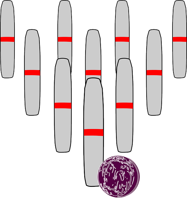 Bowling Pins Coloring Pages Printable - Get Coloring Pages | 640x606