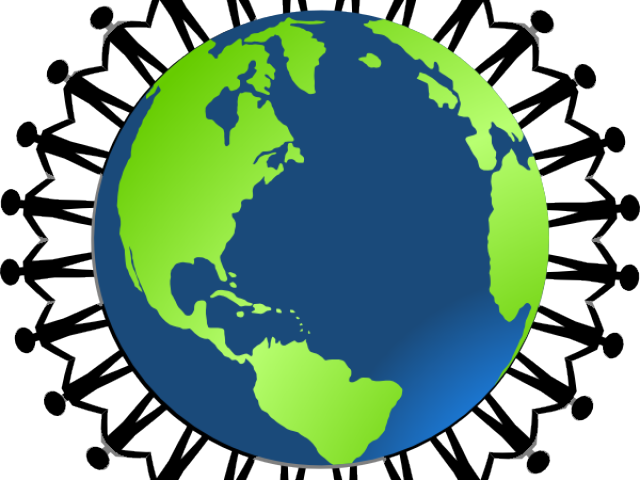 Transparent peace on earth clipart - Ring Around The World