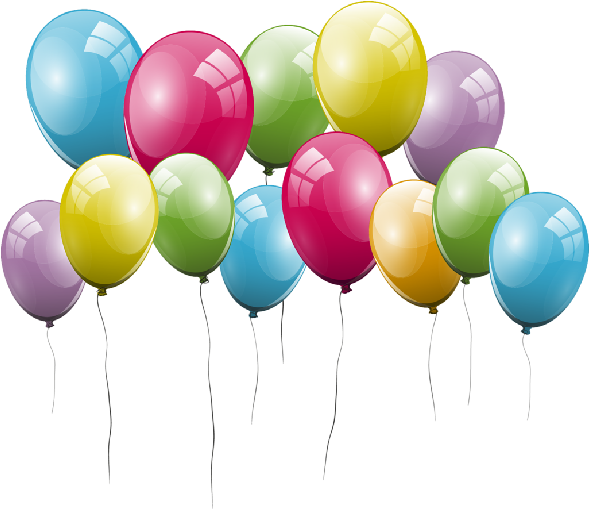 Transparent office party clipart - Party Clip Art Images - Transparent Transparent Background Birthday Balloons