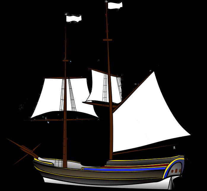 schiff segler holz masten segeln piraten boot kapal layar png transparent cartoon jing fm schiff segler holz masten segeln