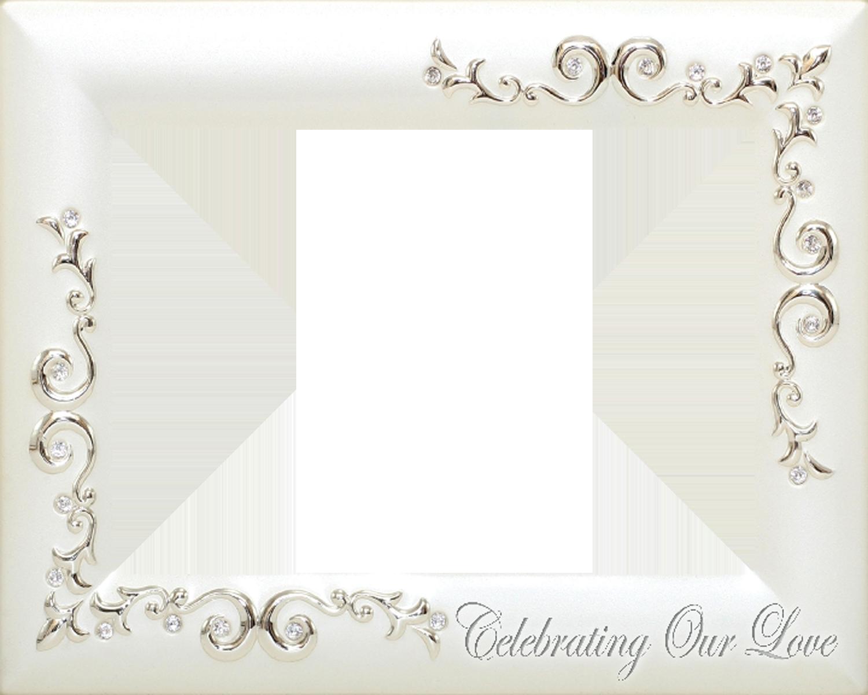 Wedding Frame Picture Silver Wedding Frame Transparent