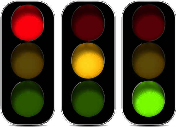 Transparent interactive clipart - Traffic Light Clipart Interactive - Control Technology Traffic Lights