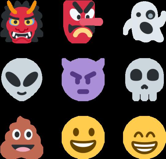 Transparent clipart smiley gratuit - Emoji Icons Png