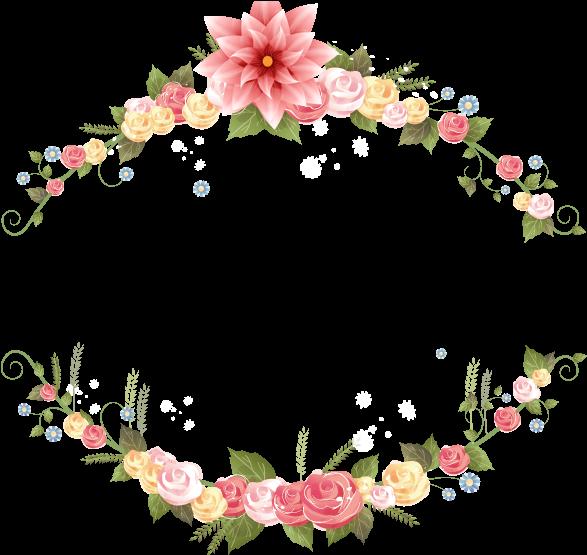 Transparent wedding garland clipart - Flower Wedding Invitation Png