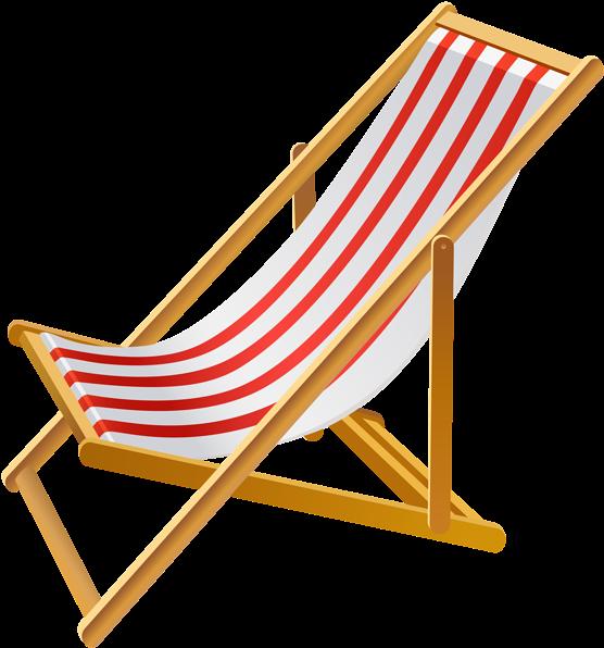 Transparent beaches clip art - Transparent Background Beach Chair Clipart