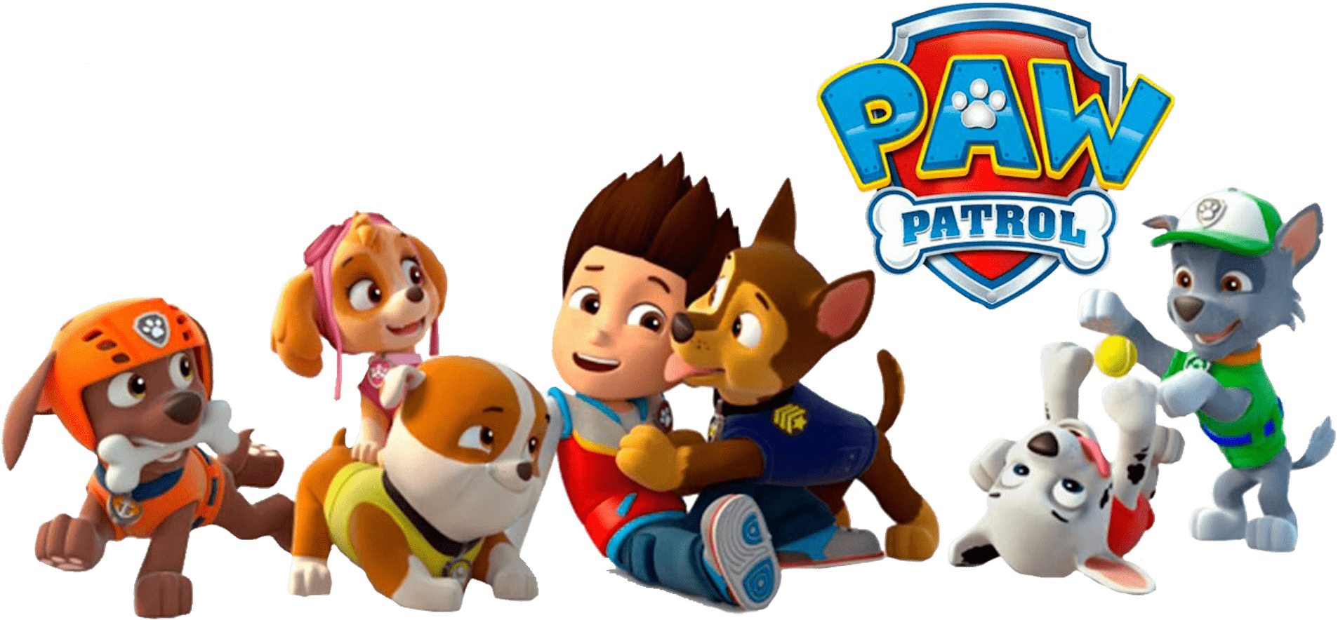 Ryder With Chase Paw Patrol Clipart Png Clipart Black Paw Patrol