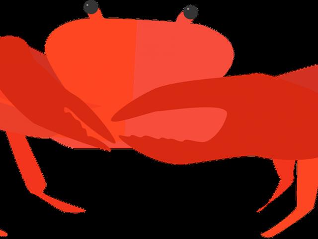 Transparent walk clipart - Crustacean Clipart Crab Walk - Cancer Animal Png