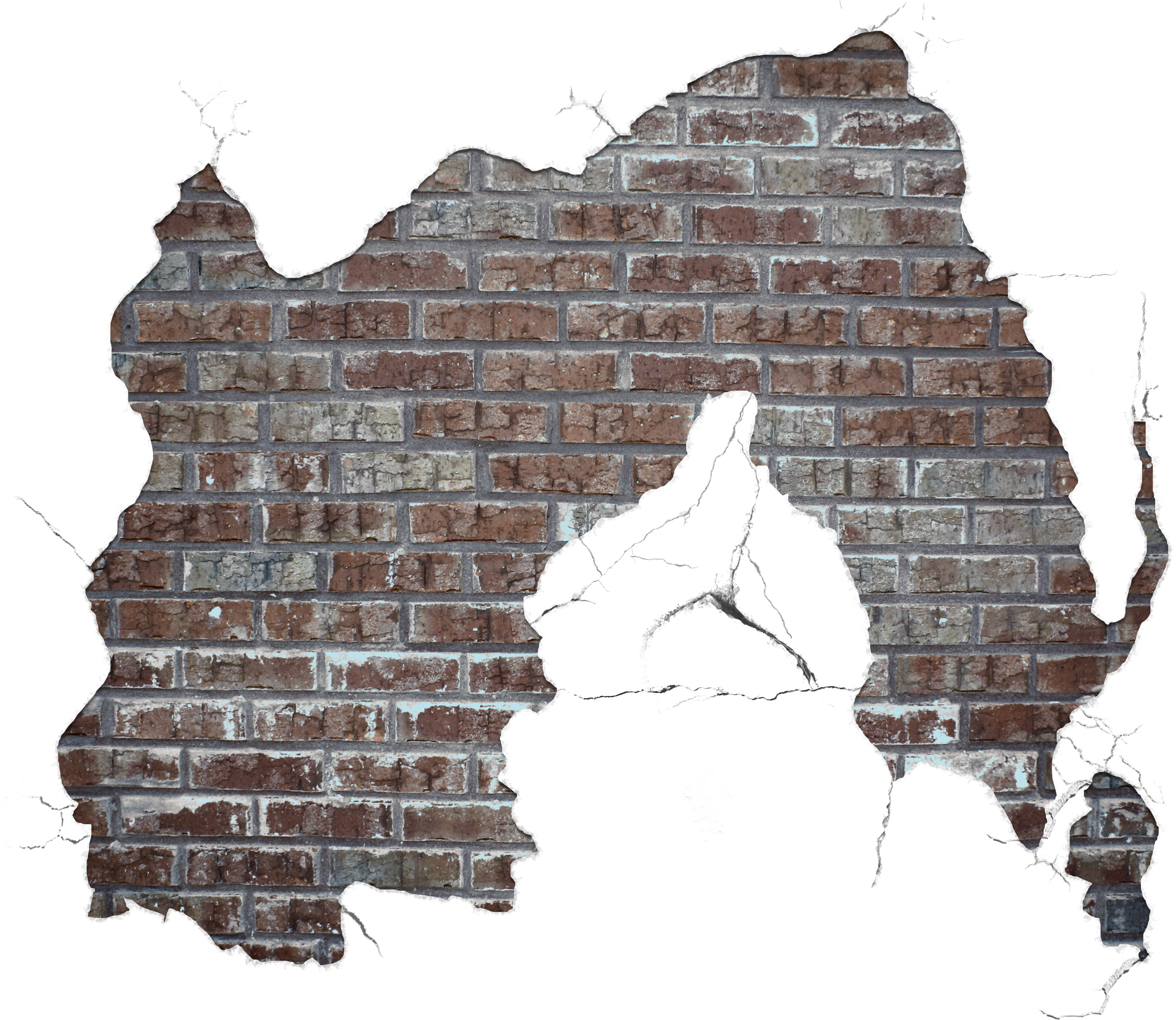 Download And Use Brick Png Clipart Broken Wall Transparent