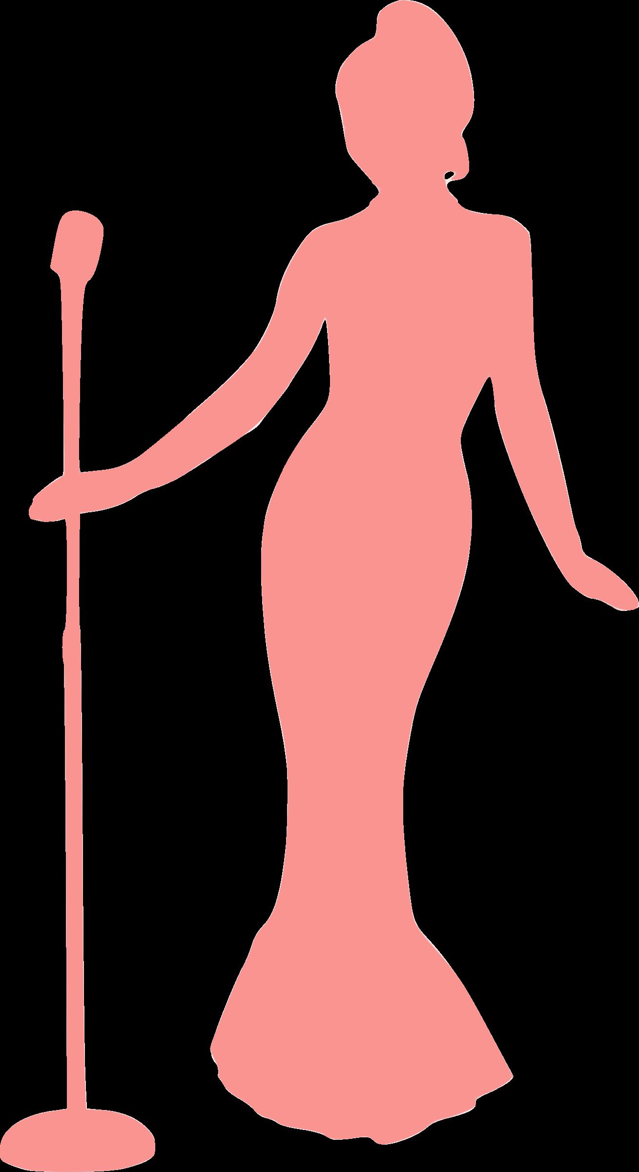 Sketsa Gambar Orang Bernyanyi Transparent Cartoon Jing