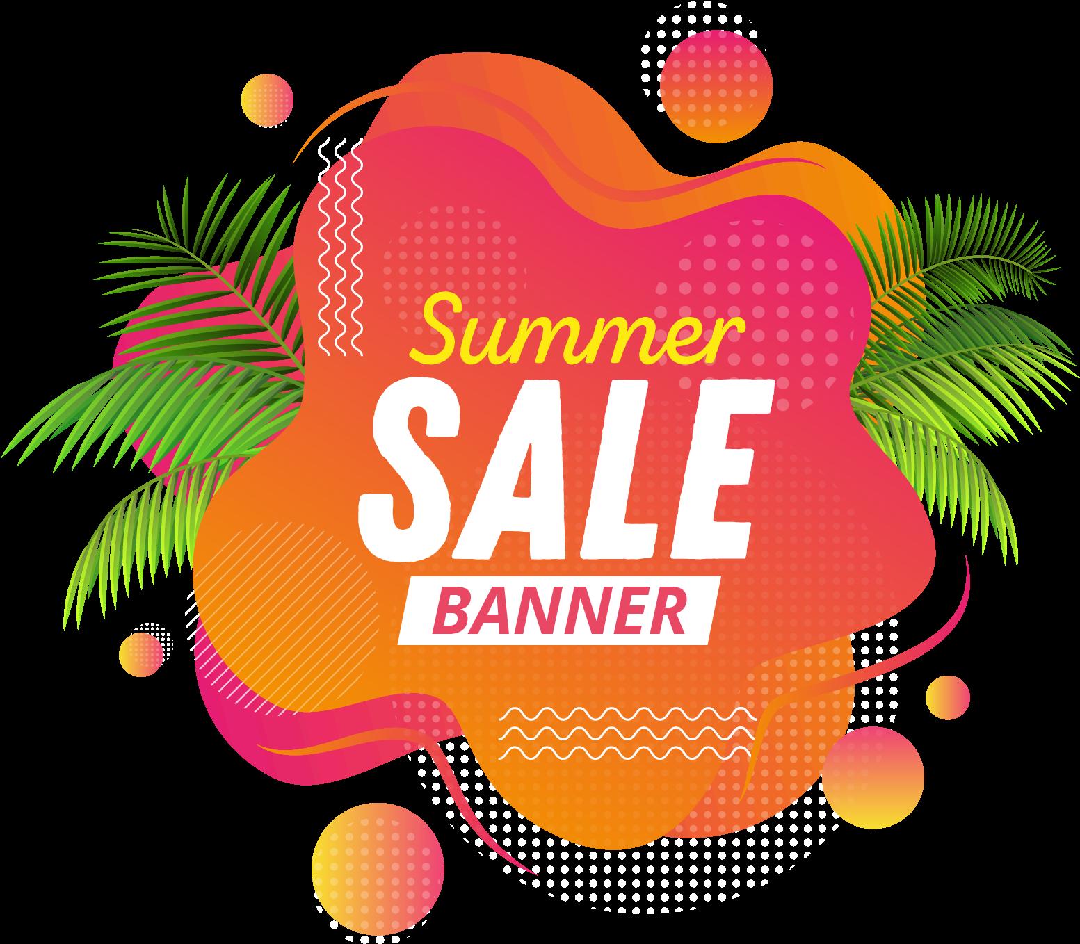 Transparent holiday sale clipart - Illustration