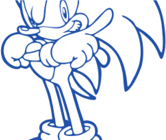 Sonic The Hedgehog Clipart Svg Coloring Pages For Video Games Transparent Cartoon Jing Fm
