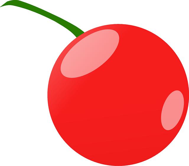 Transparent cherry clipart - Cereja Vetor Png