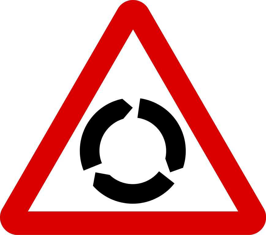 Transparent traffic light clipart - Zebra Crossing Clipart - Mini Roundabout And Roundabout Sign