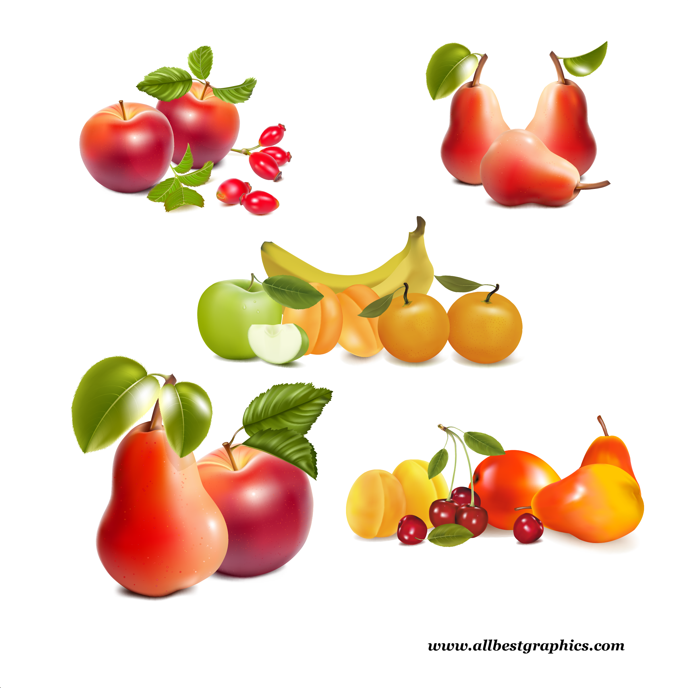 Transparent healthy food clipart png - Free Fruit Border Clipart