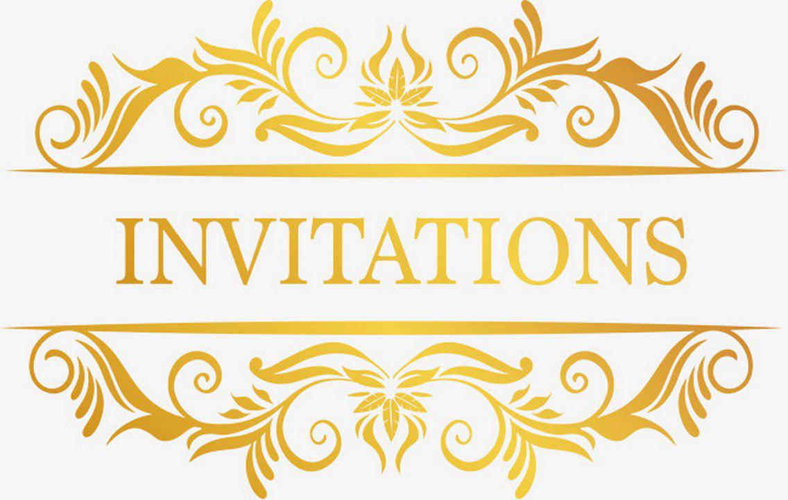 invitation logo design png  transparent cartoon  jingfm