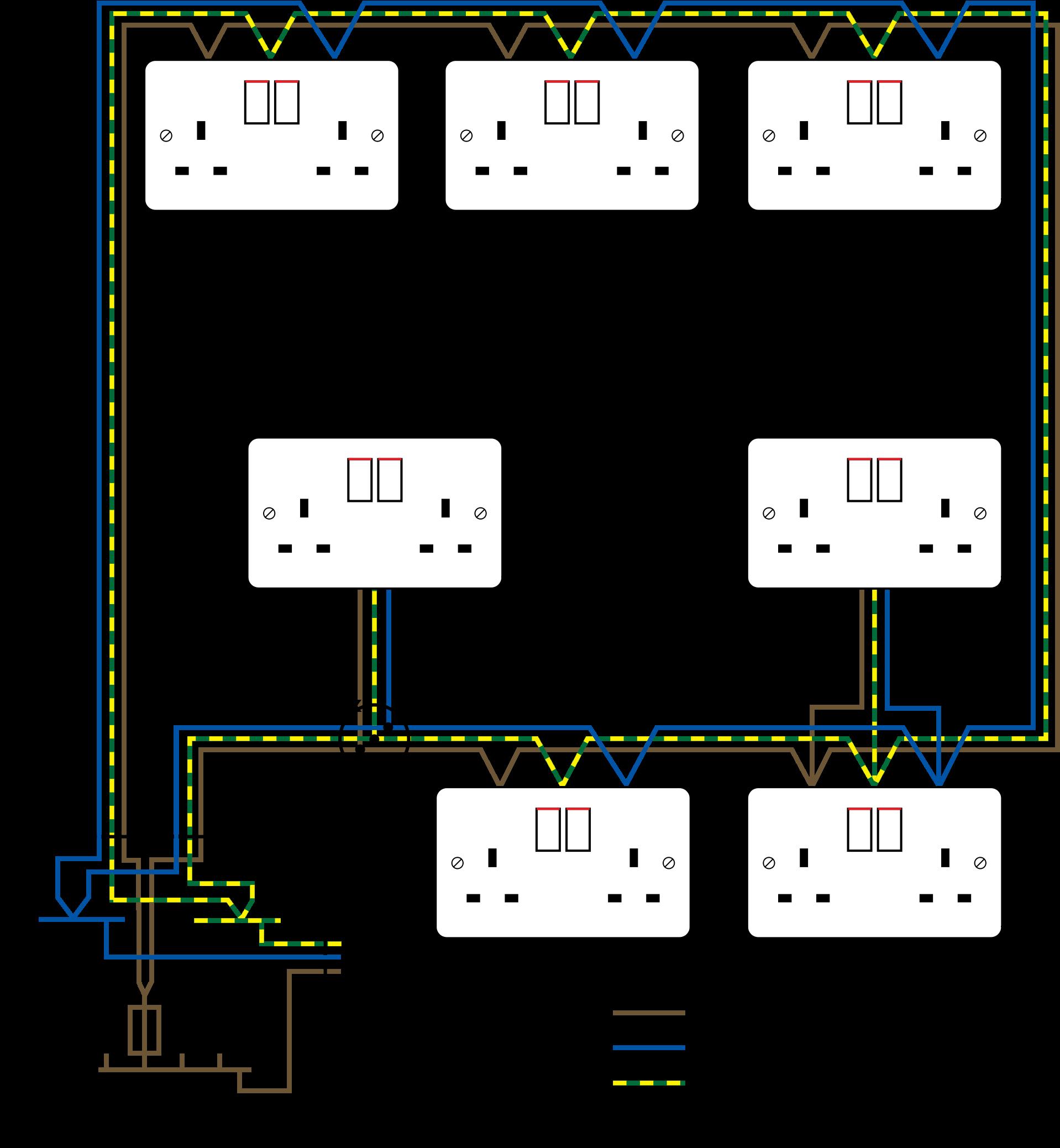 Electrical Circuit Diagram House Wiring Transparent Cartoon Jing Fm