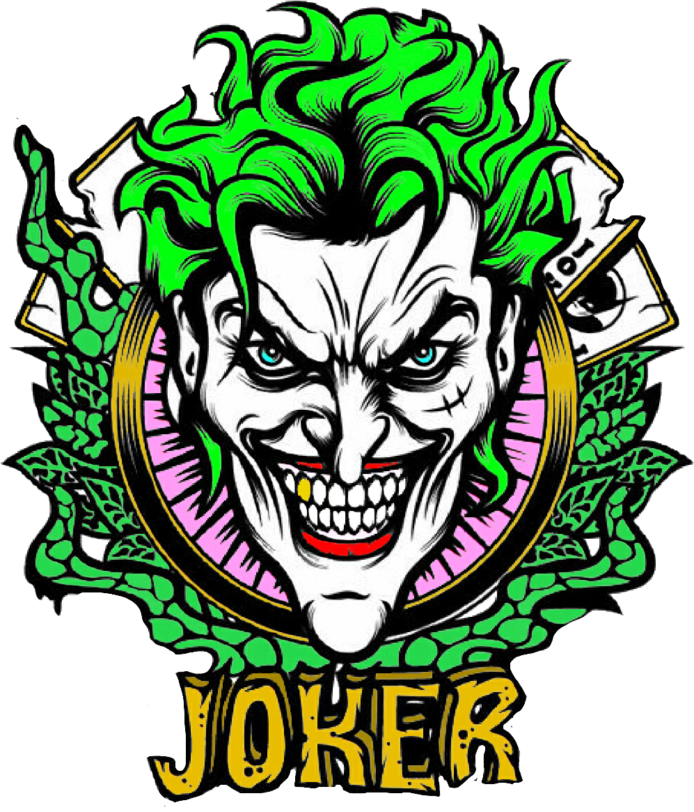 Joker Sticker Clipart Playing Card Joker Dc Transparent Cartoon Jing Fm