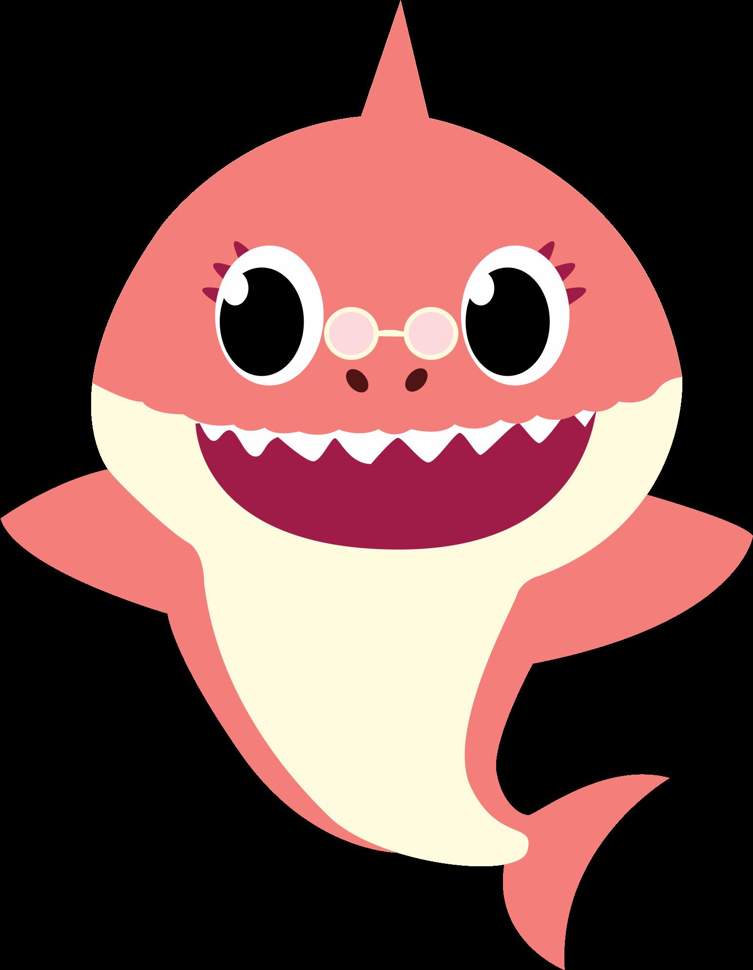 Baby Shark Em Png , Transparent Cartoon - Jing.fm