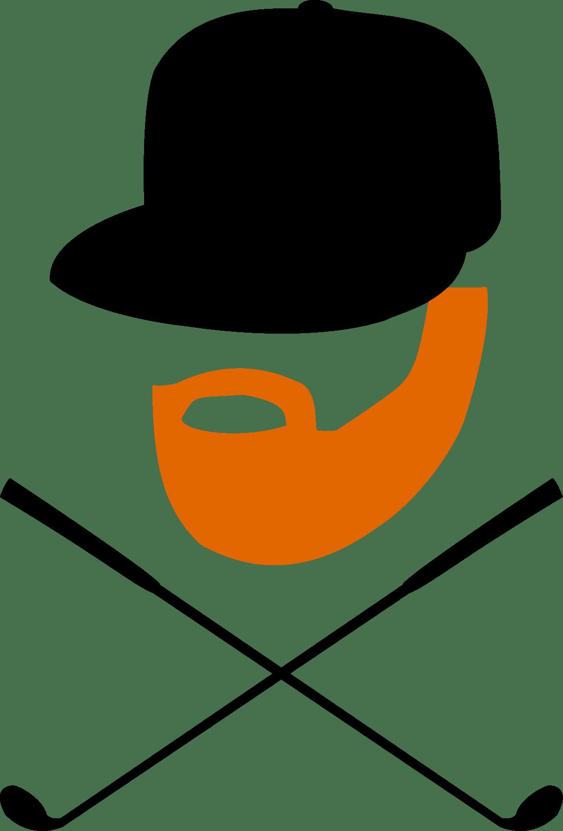 Transparent ginger beard clipart - Clip Art