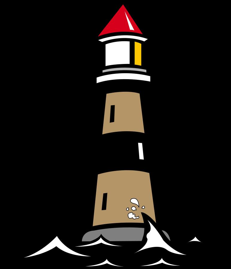 Transparent public domain clipart - Lighthouse Clipart Public Domain - Lighthouse Clipart Black And White