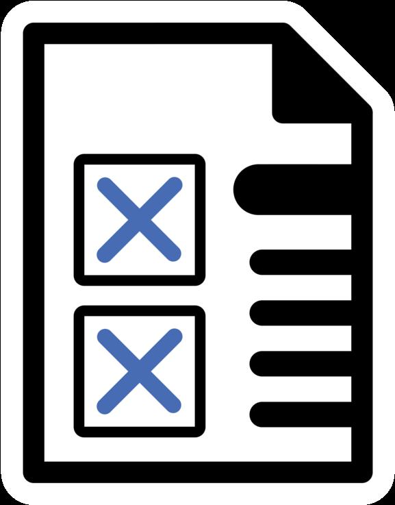 Transparent checklist clipart - Portable Network Graphics