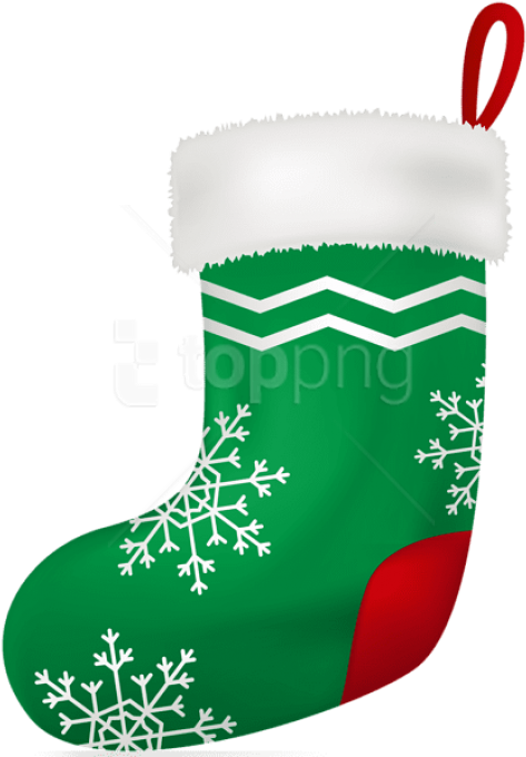 Transparent christmas stockings clipart - Christmas Green Stocking Png - Christmas Stocking Png Transparent