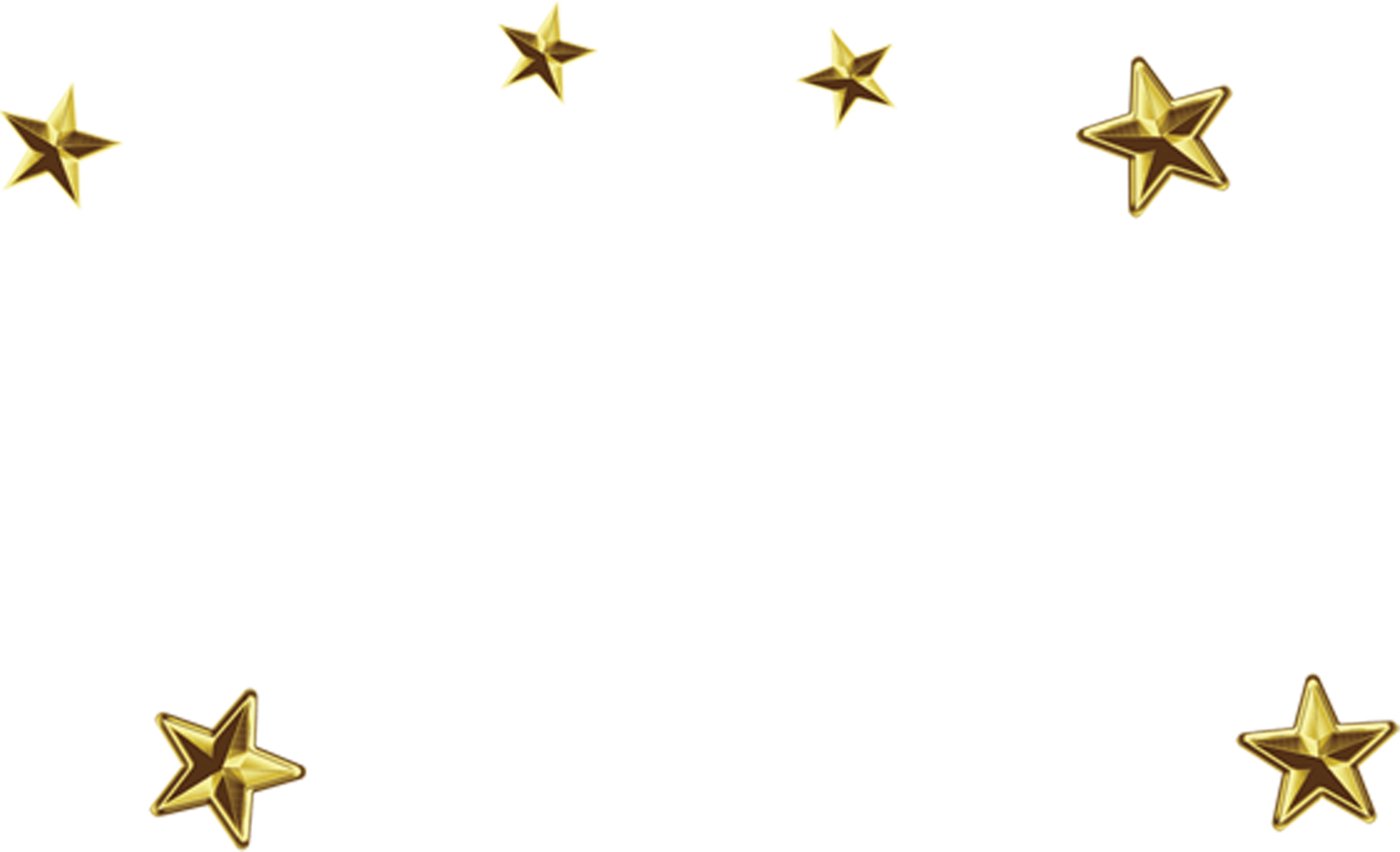Transparent gold star clip art - Gold Stars Png Clipart , Png Download - Gold Stars Png Hd