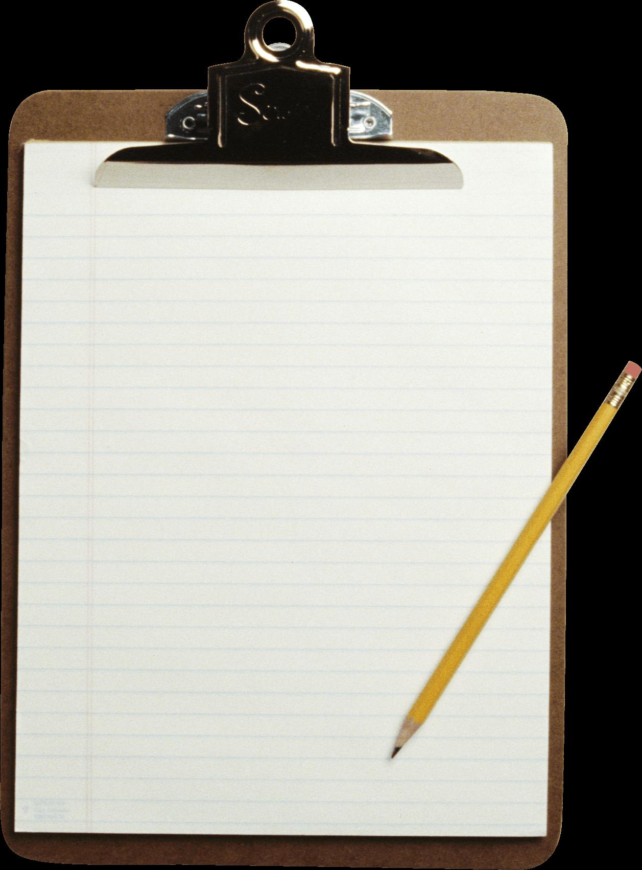 Transparent clipboard clipart - Paper Clipart Clipboard - Sheet Of Paper Png