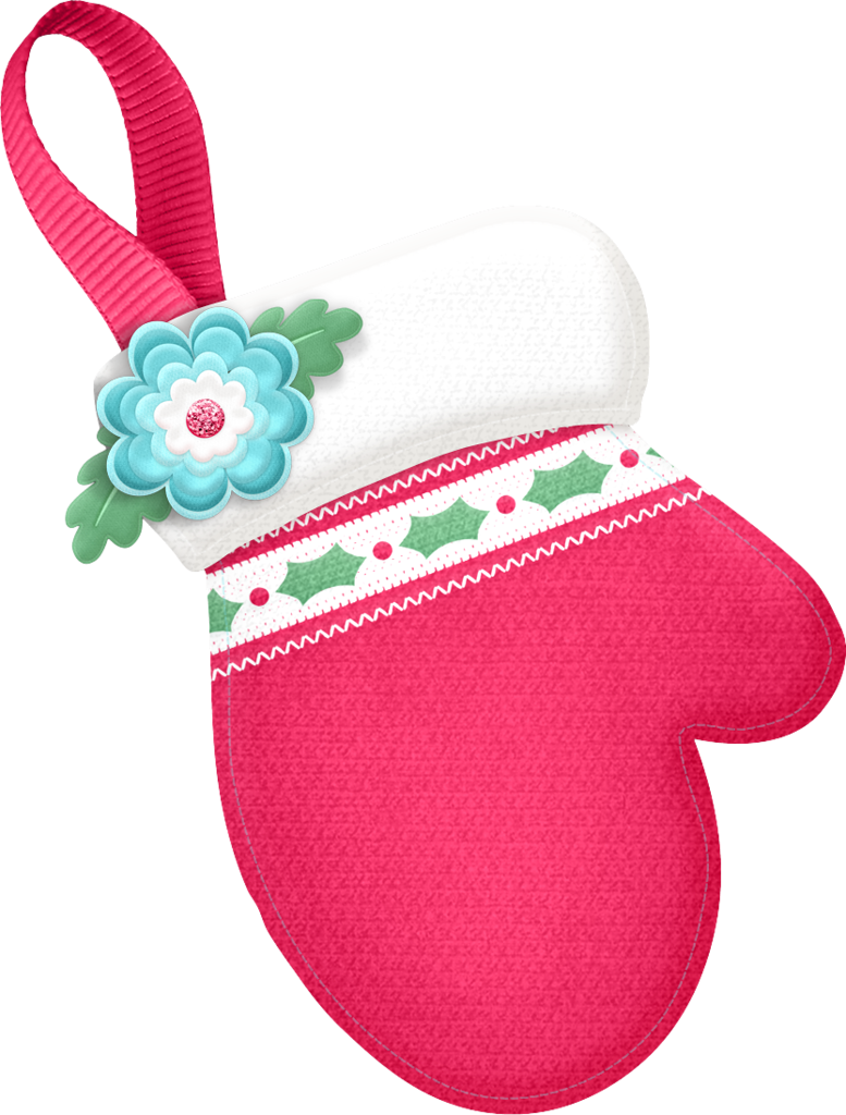 Transparent stocking clipart - Christmas Stocking
