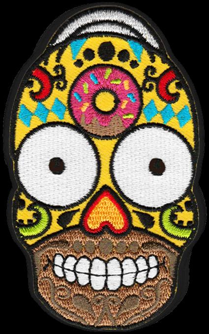 Transparent sugar skull clip art - Candies Drawing Sugar Skull - Skull