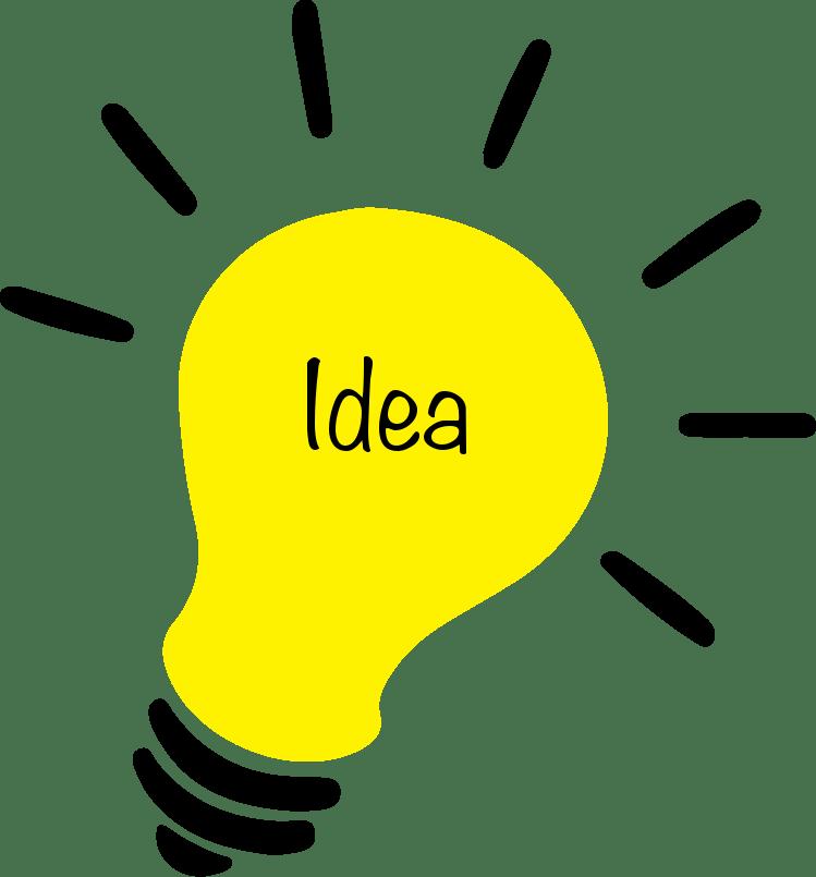 Transparent idea clip art - Incandescent Light Bulb Lamp Clip Art - Light Bulb Clipart Png