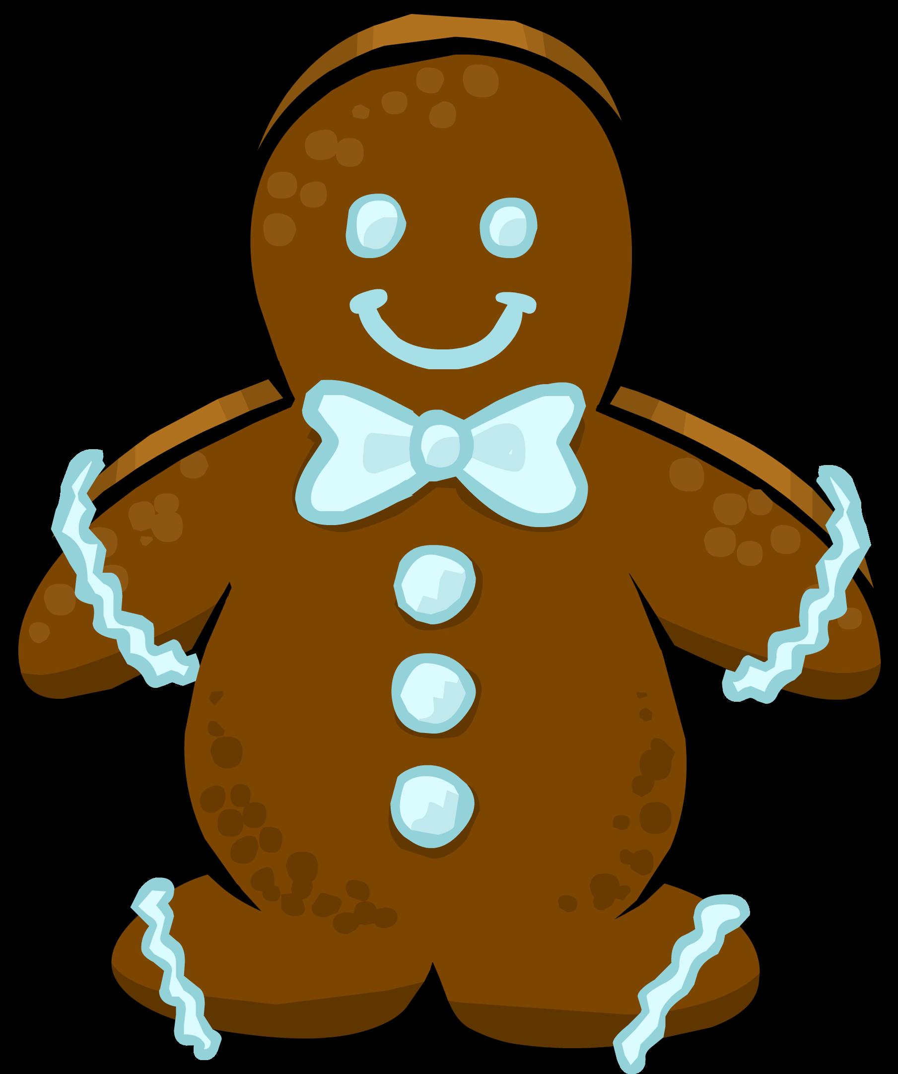 Transparent gingerbread man clipart - Dojo Clipart Gingerbread - Gingerbread Man Sprite
