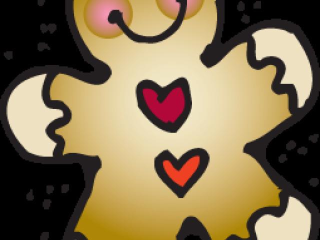 Transparent gingerbread man clipart - Free Clipart Gingerbread Man - Gingerbread Man Clipart Melonheadz