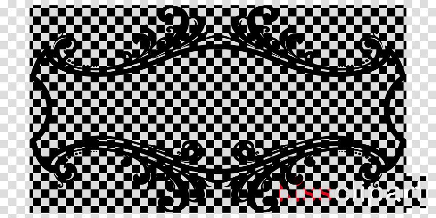 Transparent border design clipart - Download Ornament Frame Png Clipart Decorative Arts - Line Art Border Design