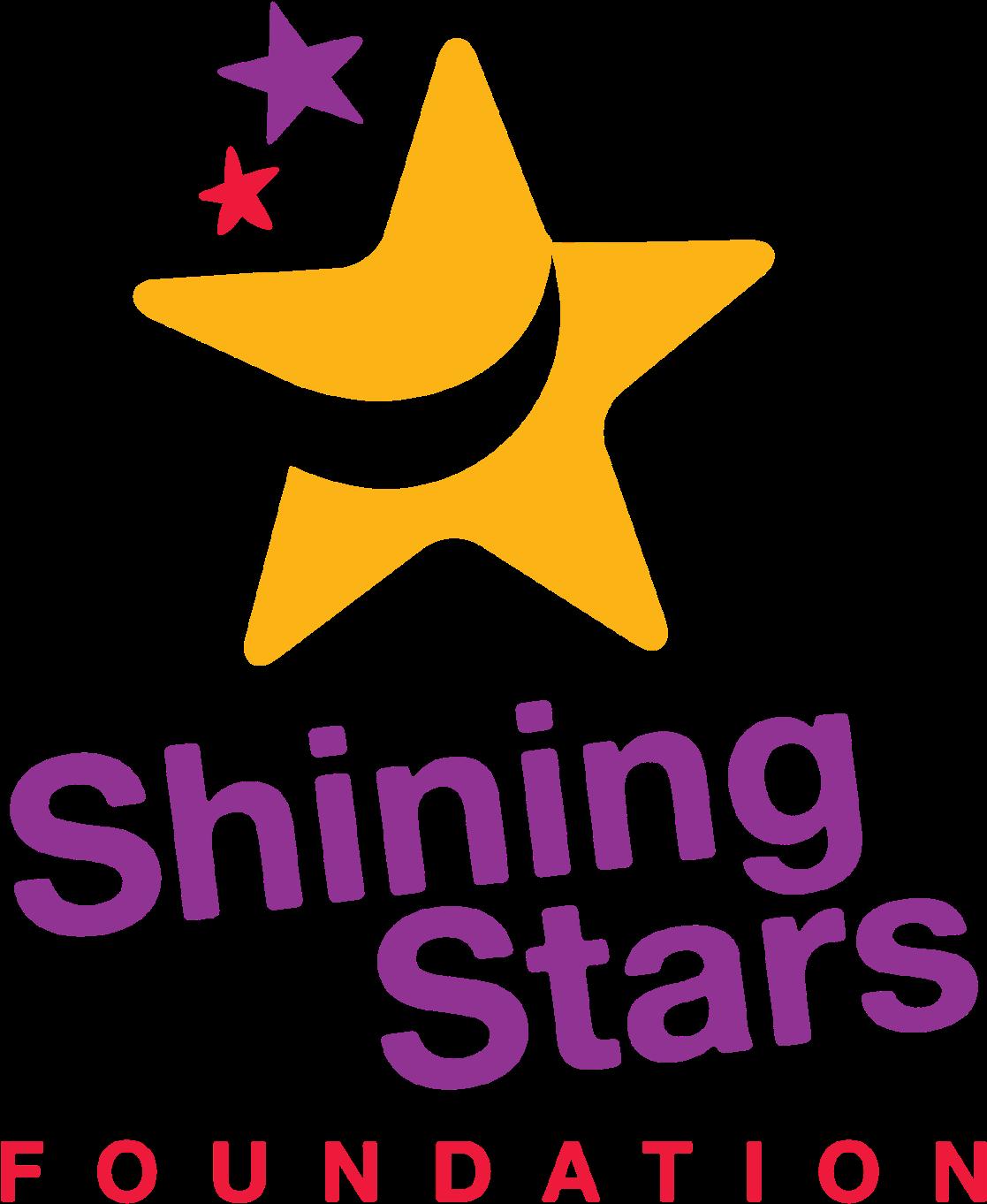Transparent shining star clipart - Shiny Transparent Shining Star - Shining Stars Foundation Logo