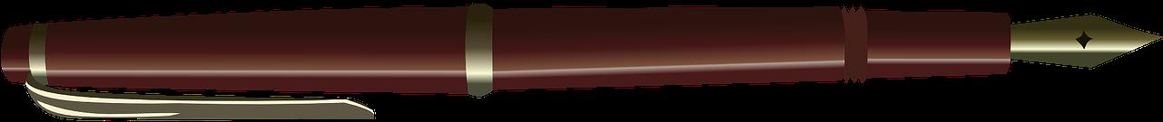Transparent pen clipart - Download - Auto Biography Of Pen