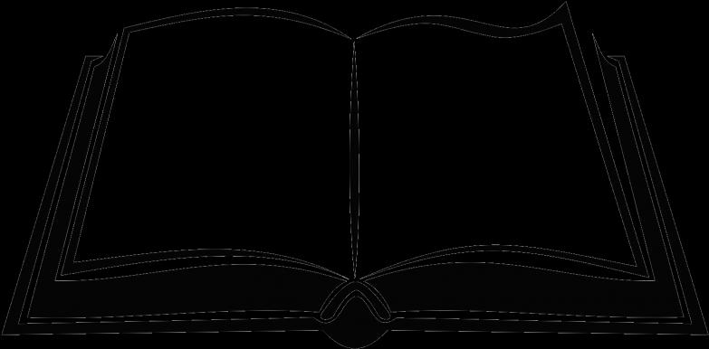 cartoon buch clip art black and white