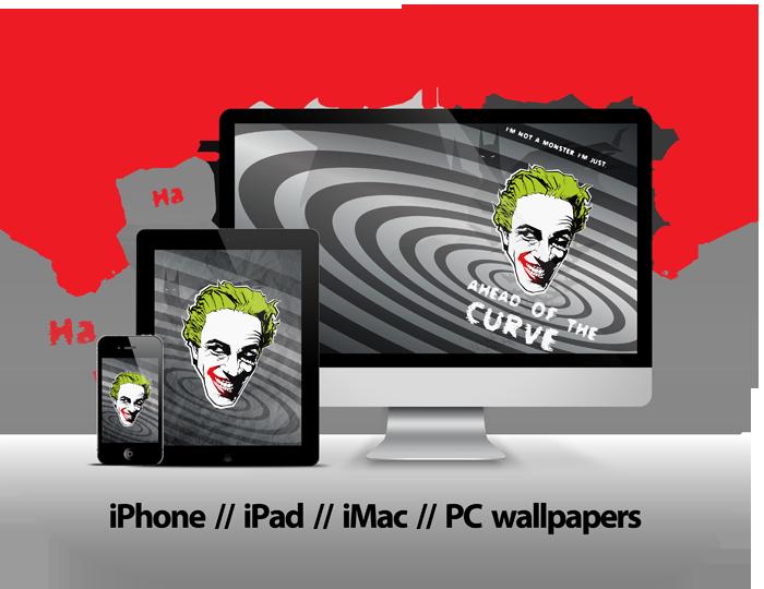 Hd S Joker Quoteconrad Iphone 4 Transparent Cartoon Jing Fm