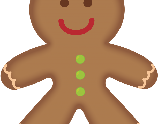 Transparent cookie clipart - Cookie Clipart Ginger Bread - Gingerbread Man Clipart Png
