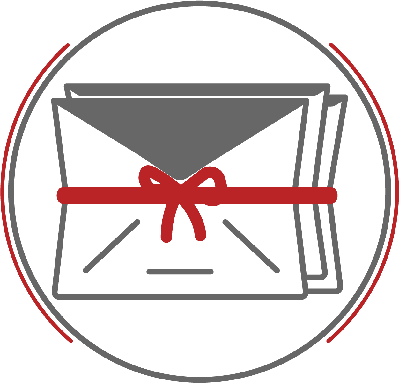 Transparent mail man clip art - Clip Art