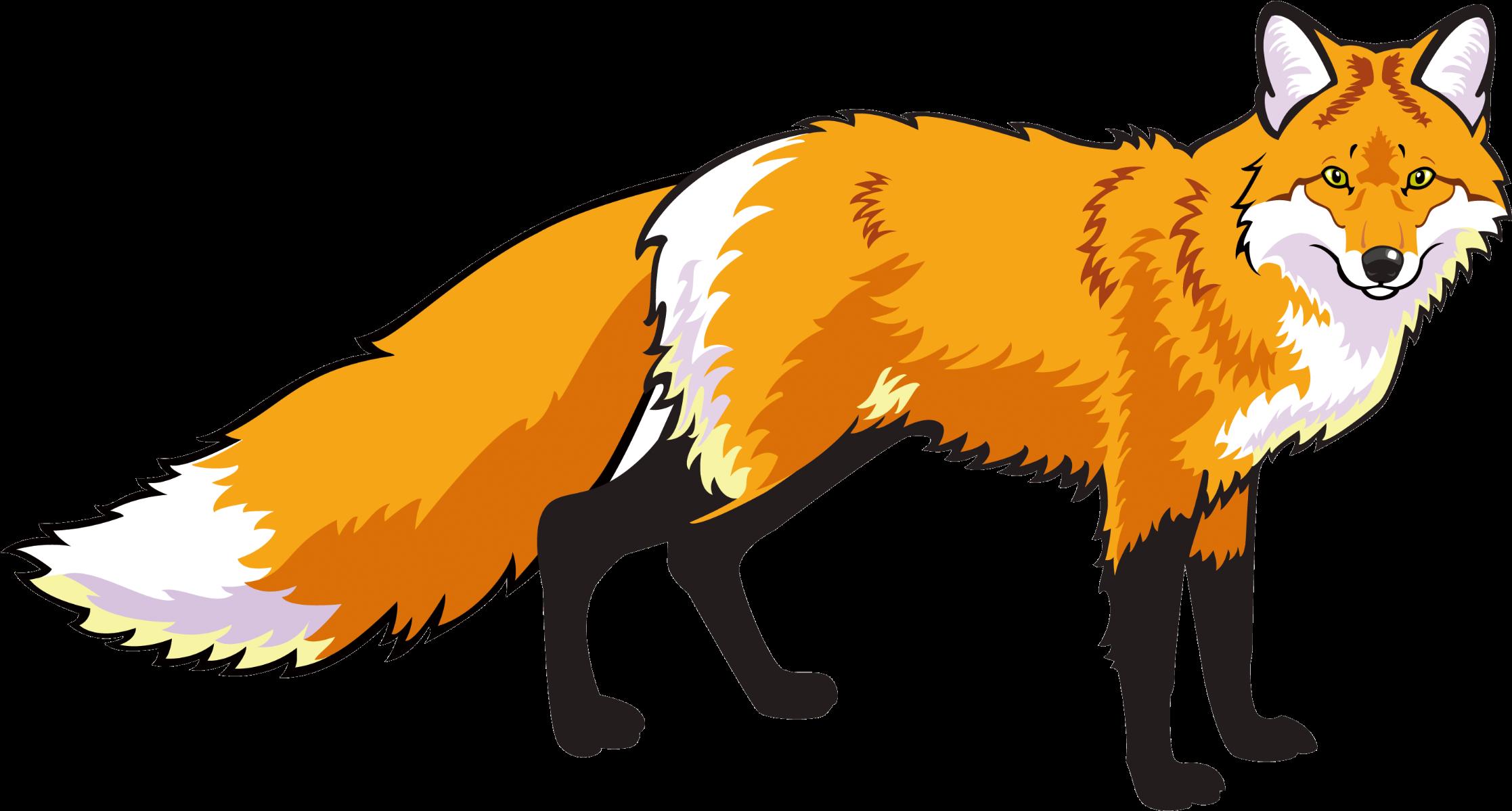 Transparent fox clipart - Red Fox Clipart Mammal - Лиса На Прозрачном Фоне