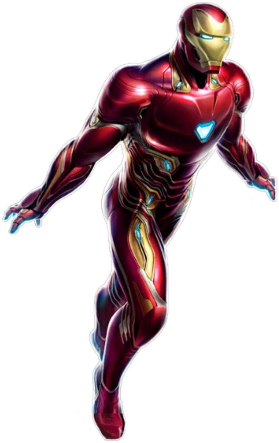 Transparent ironman clip art - #ironman #tonystark #avengers #endgame #marvel #mcu - Avengers 4 Concept Art Iron Man