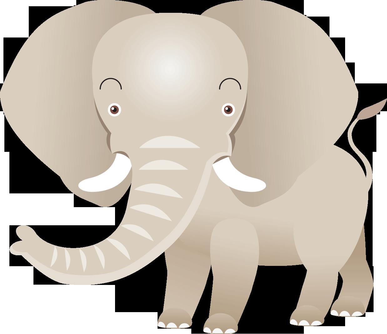 Transparent cute baby elephant clip art - Indian Elephant African Elephant Drawing - Indian Elephant