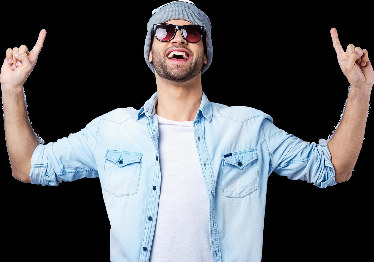 Transparent happy man clip art - Happy Man Png