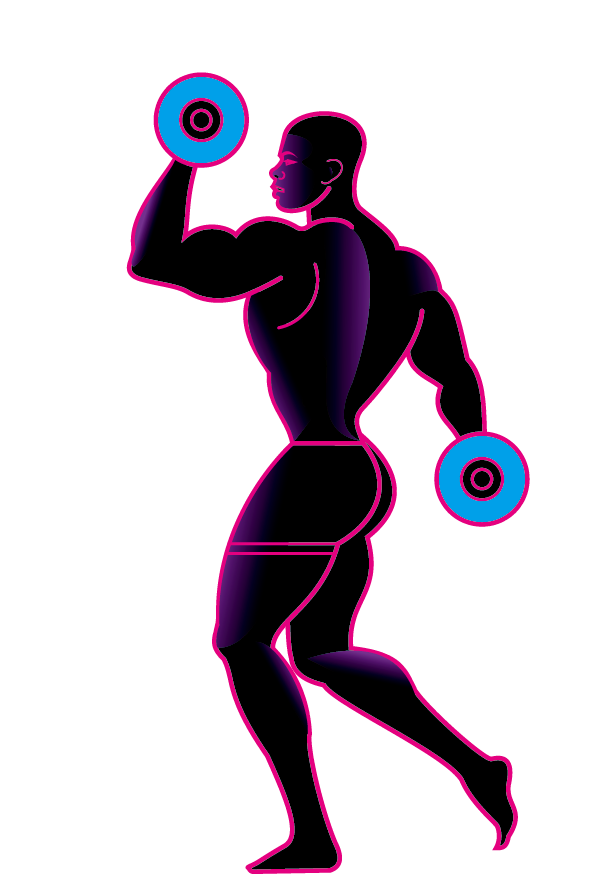 Transparent weightlifting clipart - Weight Training Olympic Weightlifting Silhouette Physical - Homem Levantando Peso Png