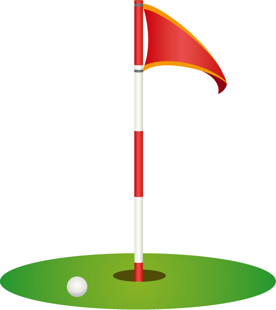 Golf Course Clipart Transparent Golf Pin Clip Art Transparent Cartoon Jing Fm