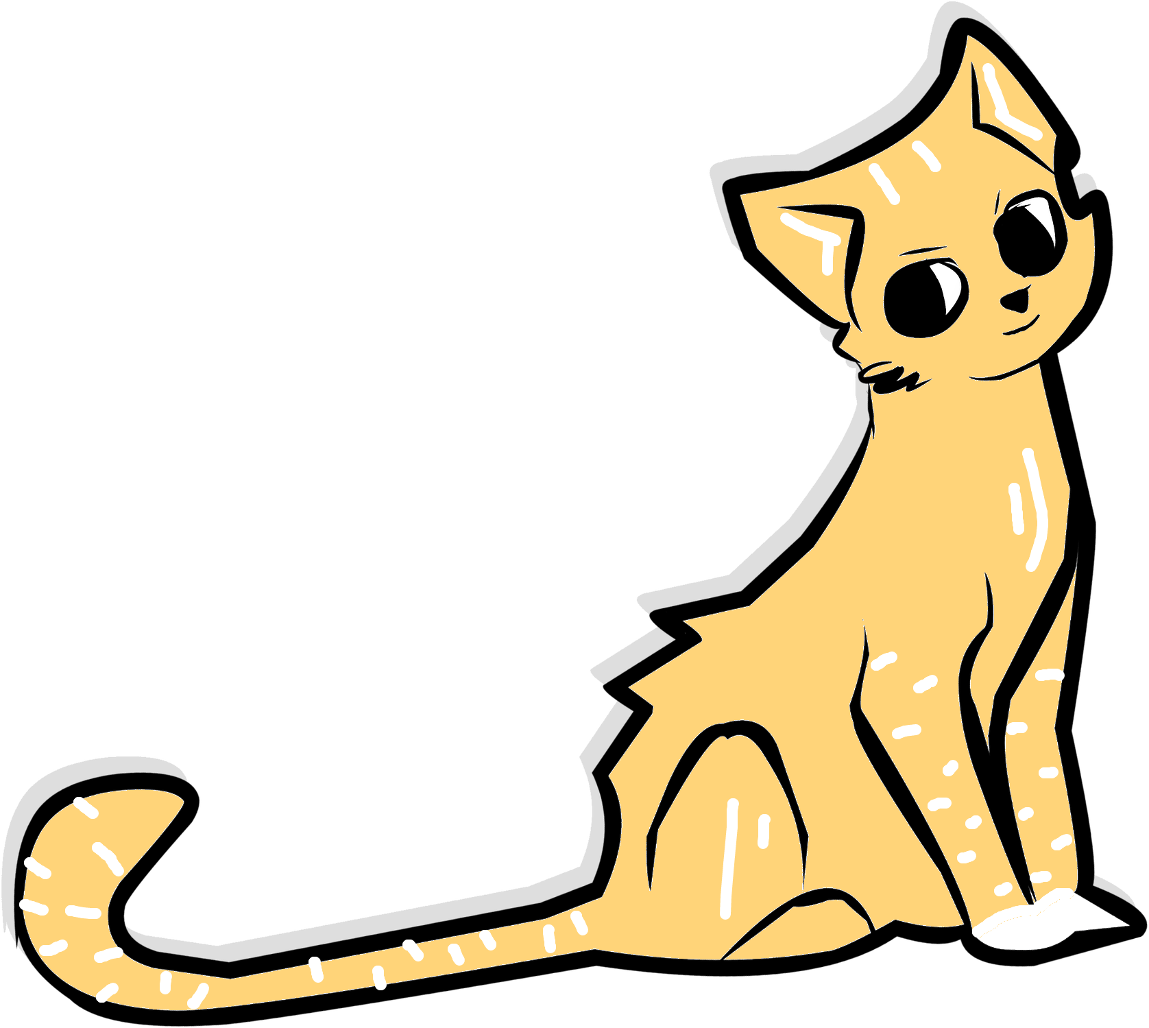 cat 2326119 clipart kucing transparent cartoon jing fm jing fm