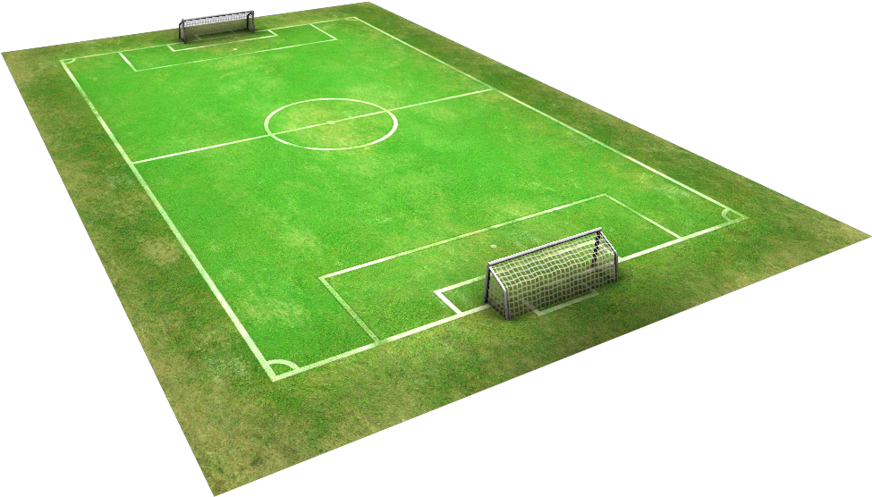 The Best Football Pitch Cartoon Background